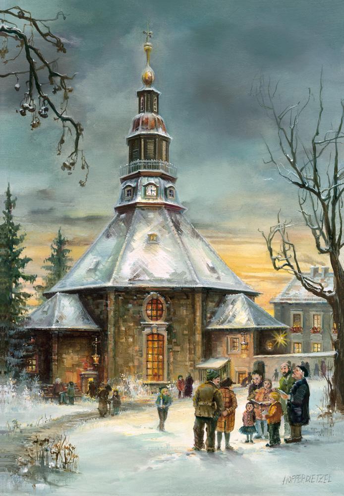 Adventskalender Kirche